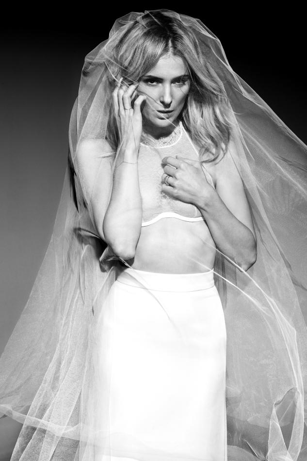 Iza Grzybowska Photographer, editorial for Gala magazine, Halinka Mlynkova singer